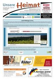 Titelbild der aktuellen Ausgabe der Dorfschelle